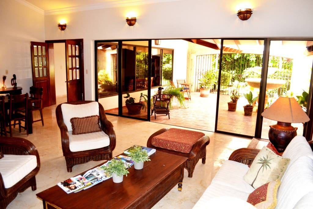 Fully equipped spacious Villa, each room has air conditioning.